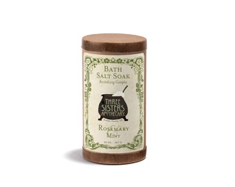Rosemary & Mint Bath Salt Soak -  20 oz.