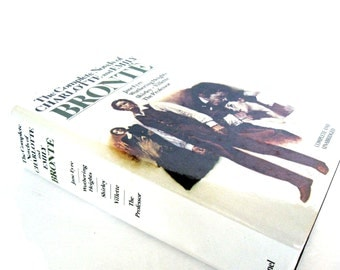 JANE EYRE, Wuthering Heights, Shirley, Villette, The Professor Vintage 1981 Edition The Complete Novels of Emily and Charlotte Bronte