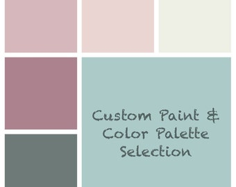 Paint & Color Palette Selection - Custom - Single Room