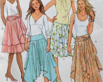 Skirt Sewing Pattern UNCUT Butterick B4520 Sizes 16-22