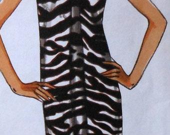 Dress Sewing Pattern UNCUT Vogue V8486 Sizes 6-12