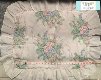Vintage Bouquet Pillowcase Sham