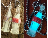 Glow in the Dark Cola Bottle Charm