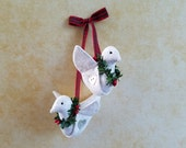 Two Turtle Doves - 12 Days of Christmas Ornament