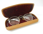 Vintage Wire Rim Glasses • Antique Silver Color Wire Frame Glasses