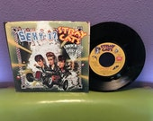"FINAL SALE Vinyl Record Stray Cats - (She's) Sexy & 17 b/w Lookin' Better Every Beer 7"" 45 RPM 1983 Rockabilly Hit Single"