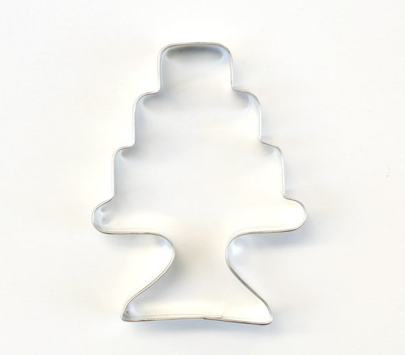 Cake Cookie Cutter Wedding Cake Cookie Cutter Wedding Party Favors Cake Metal Cookie Cutter