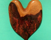 HEART of the HOME Wall Decor Carved in Mahogany Wood