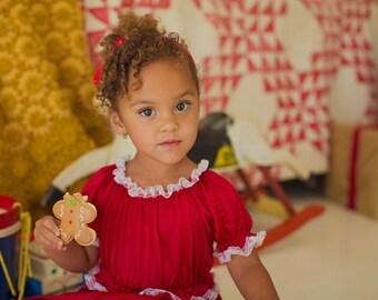 Holiday Pajamas Girls Princess Jammies - infant and toddler sizes