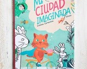 book and Colorbook Mi ciudad imaginada