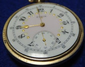 Gorgeous Looking Elgin 16 Size 15 Jewels Pocket Watch-Serviced