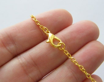 BULK 12 Bracelets  19cm gold tone