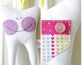 Tooth Fairy Pillow for a Girl (Sweet Heart)-READY TO SHIP