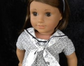 """Special request for a Sailor Set to fit 18"""" dolls"""