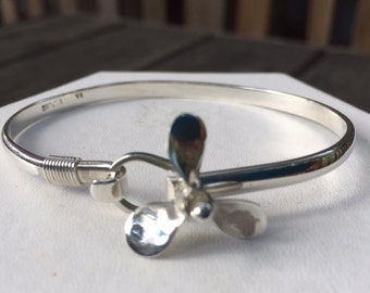 """Prop Cuff in Sterling Silver Size 7"""""""