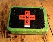 Vintage CNR First Aid Tin