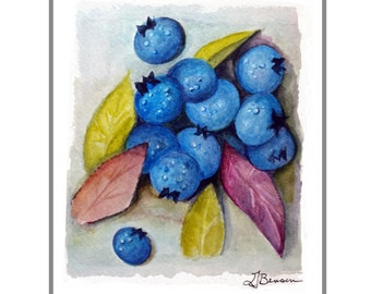 Blueberries Two