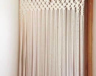 Vintage Wedding Accessory Wedding Ceremony Arch Home Decor  Macrame  Door Curtain