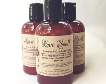 Love Spell Body Lotion - Coconut Milk & Aloe Body Lotion with Cocoa Butter