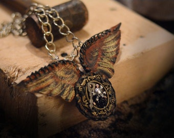 SteamPunk the Master Key necklace