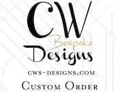 Floral Watercolor Custom Program - Lauren