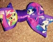 Mini My Little Pony Hair Clip