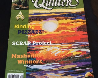 American Quilter Magazine- Winter 2005 Issue- Like New Condition