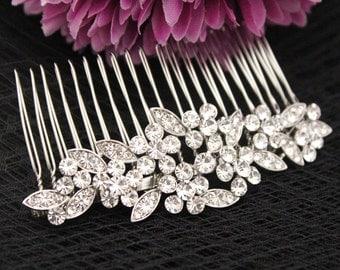 Wedding hair accessories,Rhinestone bridal comb,Wedding hair comb,Bridal hair jewelry,Wedding decorative combs,Bridal comb,Wedding hair comb