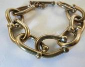 High End Equestrian Horse Shoe Bracelet