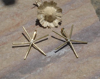 5 Prongs Handmade Brass Claw Pendant For Natural Stones or Whatever
