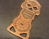 copper key! GOONIE KeY necklace pendant & PaTcH SET with StiCKer set patch and copper bone key!!  - act now.