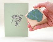 Rubber Stamp | floral | bunch of flowers #02 | ecofriendly | STUDIO KARAMELO