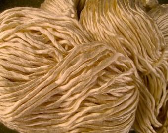 100% Mulberry Silk Yarn Incredible Natural Luster 200+ Yards!