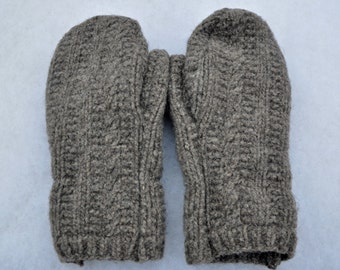 Sweater Mittens, Wool Mittens, Recycled Sweater Mittens, Mittens, Upcycled Wool Mittens, Upcycled Mittens, Felted Wool Mittens