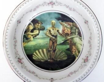"Portrait Bowl.   The Birth of C3PO Portrait 5.65"""