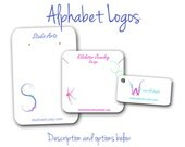 Custom Jewelry Cards, Earring Cards, Logo, Jewelry Display, Alphabet Logo, Colorful Jewelry Cards, Letters