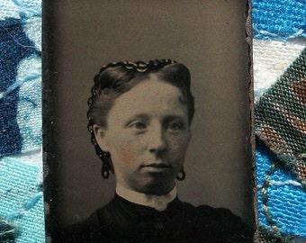 GEM Tintype - Girl - Rebecca