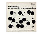 """Josef Albers record album design, 1960. Enoch Light and The Light Brigade """"Provocative Percussion, Volume 2"""" LP"""