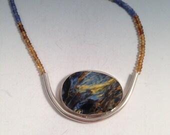 Pietersite Luna necklace