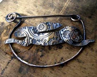 Bronze Celtic Hare Brooch/Fibula