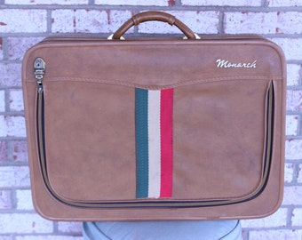 Monarch Suitcase Vintage | Luggage And Suitcases