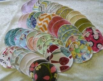 Reusable Nursing Pads - Set of 12 (6 pairs)