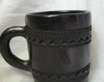 unsigned vintage Cherokee pottery mug-mint-sale