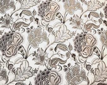 Seraphina Meadowlark Taupe Microfibres Fabric