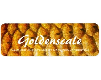Goldenscale handcrafted fragrance oil - 10 mL bottle. It's back. It's bigger. Preorder it. Live your life.