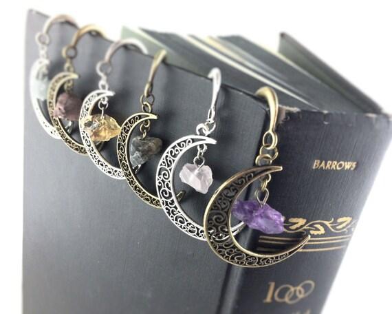 Gemstone Moon Bookmarks