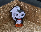 Cute Vampire enamel pin