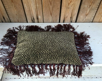 Buckwheat Leopard Pillow