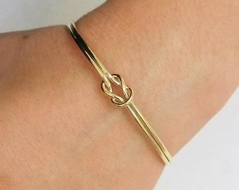 cuff bracelet,gold bracelet,knot bracelet,open bracelet,gold cuff bracelet, stacking bangle ,thin cuff bracelet,simple cuff, bangle bracelet