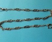 Antique silver Niëllo Watch Chain